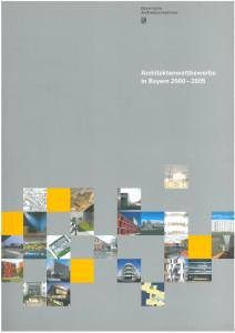 Architekturwettbewerbe in Bayern