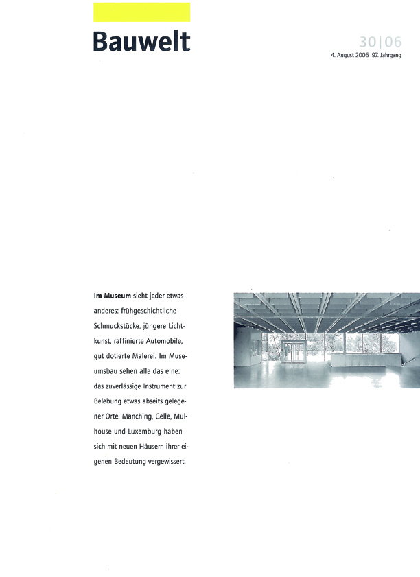 Bauwelt_30_2006_cover