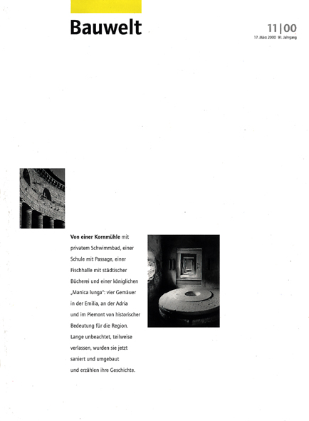 bauwelt_11_2000 IN ML