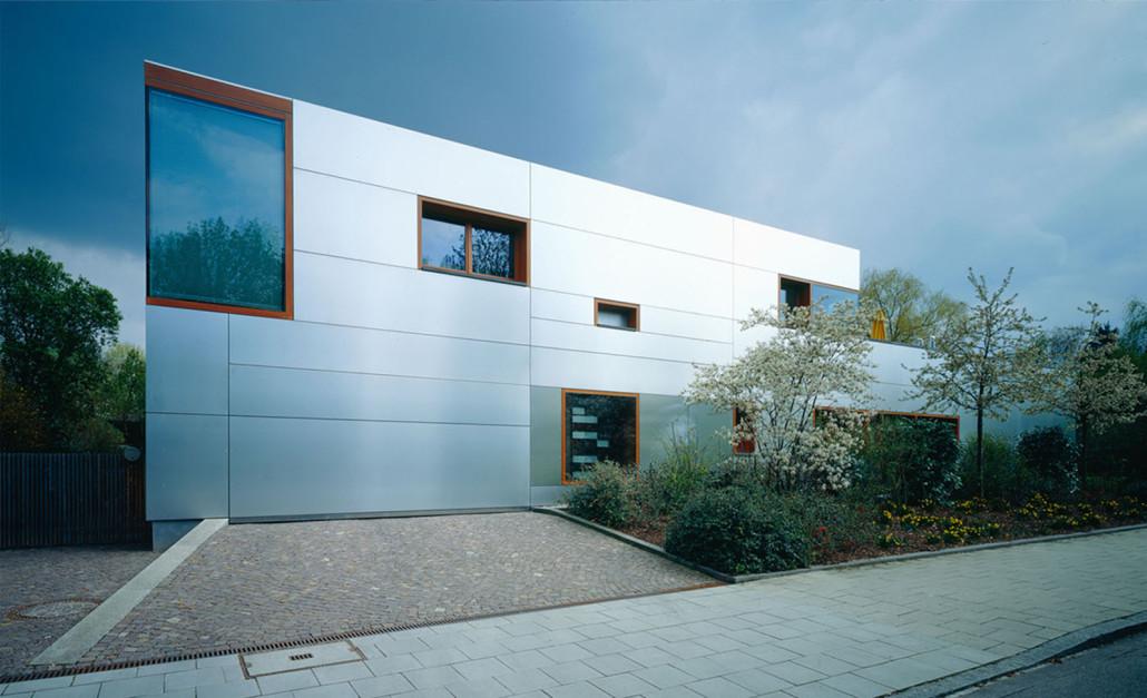 Erweiterung Einfamilienhaus Munchen Bogenhausen Fischer Z